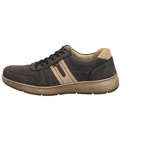 WALDLÄUFER, WALDLÄUFER Freizeit Schuhe Schnürschuhe, blau  Gute Qualität beliebte Schuhe