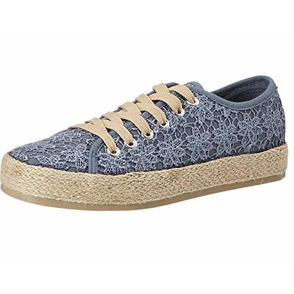 rieker Schnürschuhe blau Schuhe rieker Freizeit rqwAUrT4