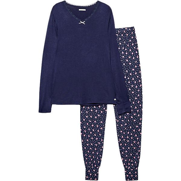 Darlin Cas BODYWEAR Schlafanzug ESPRIT blau q6848O