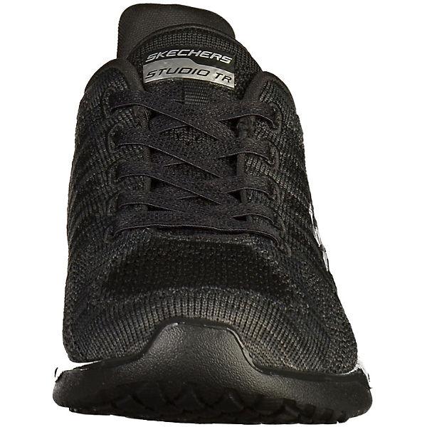 SKECHERS, SKECHERS Sneakers, schwarz schwarz Sneakers,   a57225