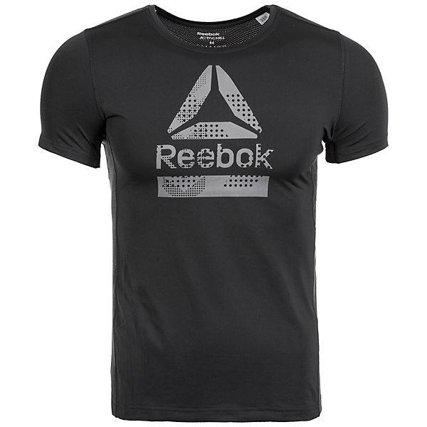 Reebok Trainingsshirt Activchill Graphic schwarz