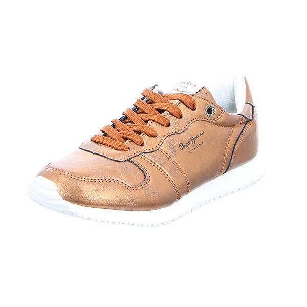Pepe Jeans Pepe Jeans Sneakers Damen Sneaker Gable Plain orange