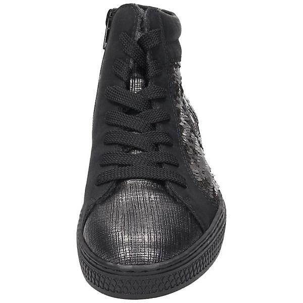 rieker, rieker Sneakers, dunkelgrau beliebte  Gute Qualität beliebte dunkelgrau Schuhe 587187