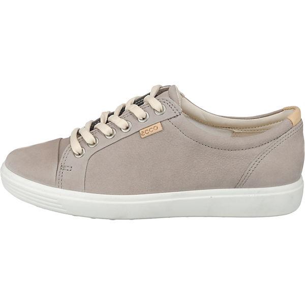 W Grau Ecco Low Sneakers Soft 7 T4nnO7qW