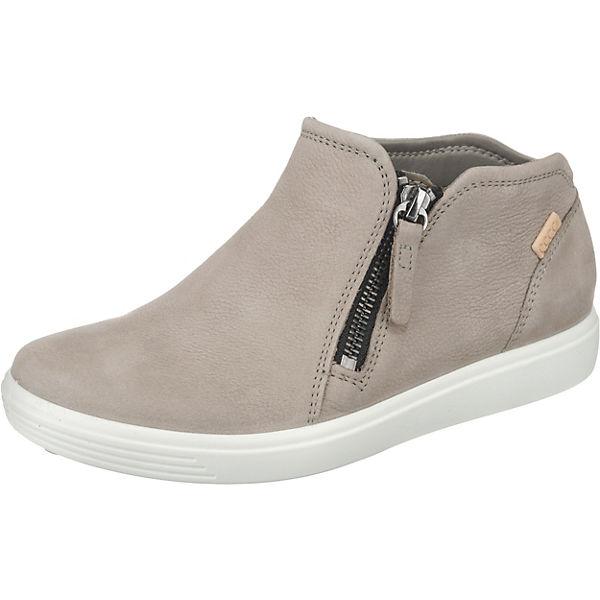 separation shoes b8e97 87397 ecco, ECCO SOFT 7 LADIES Sneakers High, grau