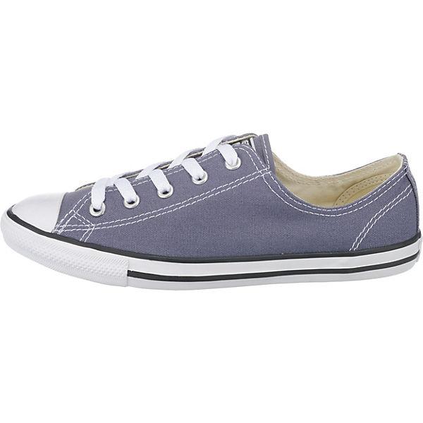 CONVERSE, Chuck Taylor All Star  Dainty Ox Sneakers, grau  Star  b47882