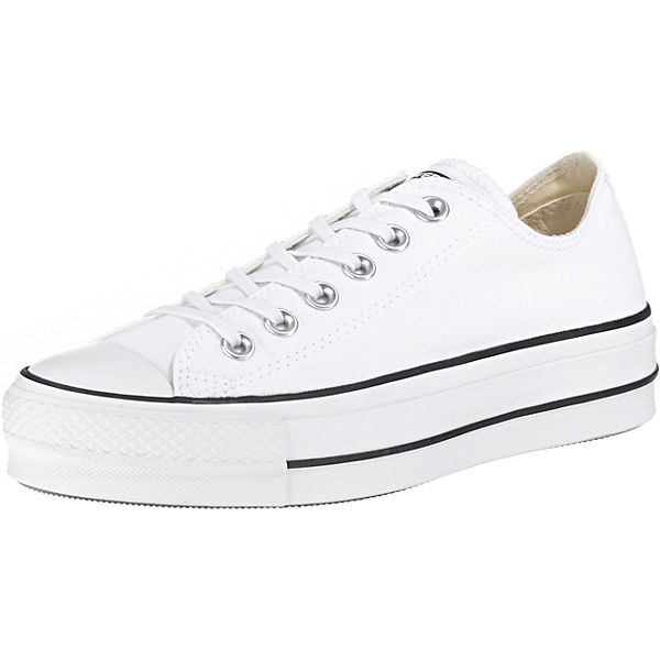 finest selection b4ebb c9563 CONVERSE, Chuck Taylor All Star Lift Sneakers Low, weiß