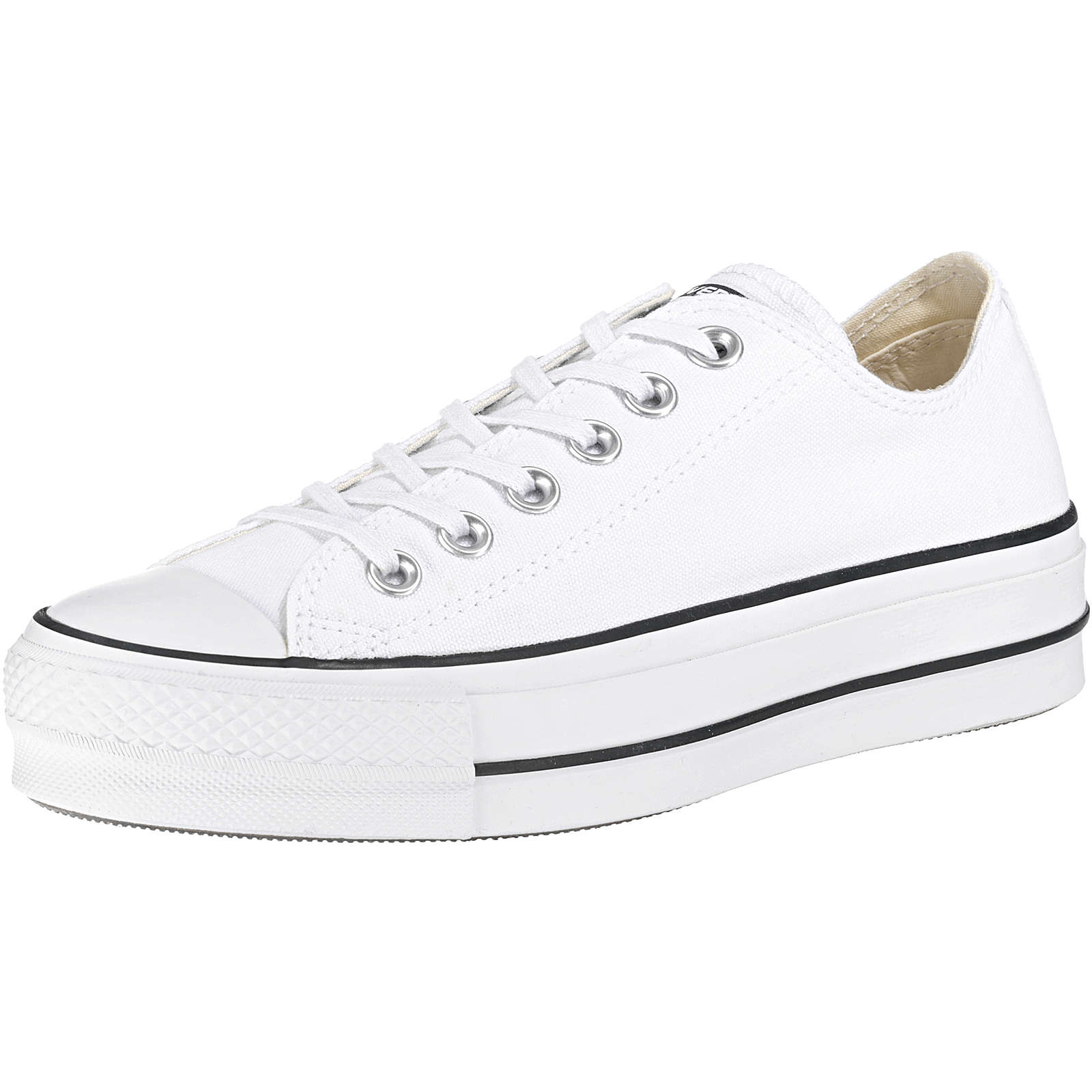 CONVERSE Chuck Taylor All Star Lift Ox Sneakers High weiß Damen Gr. 39,5