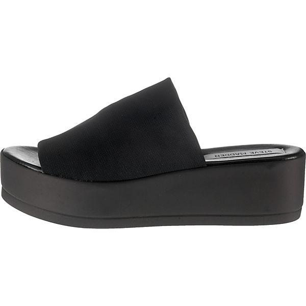 STEVE MADDEN Slinky Gute Sandal Pantoletten schwarz  Gute Slinky Qualität beliebte Schuhe eab8d5