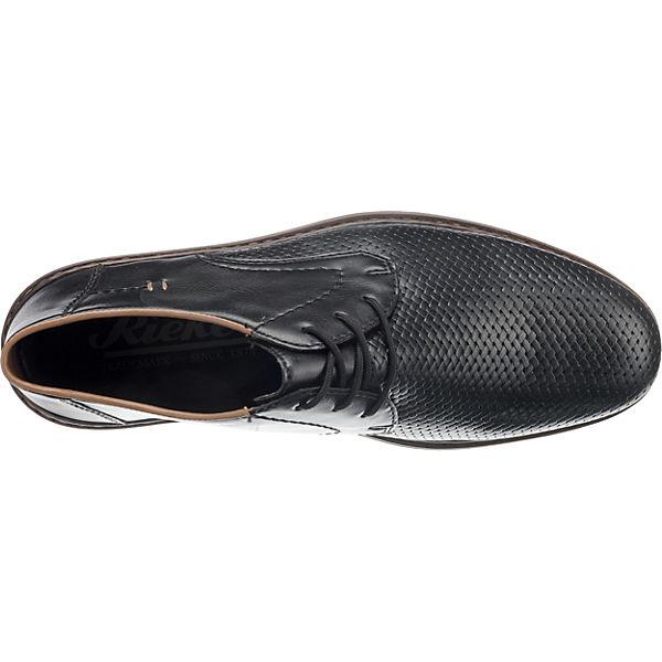 rieker, Business Schuhe, schwarz schwarz schwarz  Gute Qualität beliebte Schuhe d62e54
