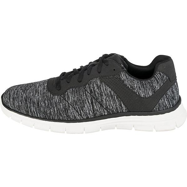 rieker kombi rieker Sneakers Low Sneakers Low schwarz schwarz vqpRv