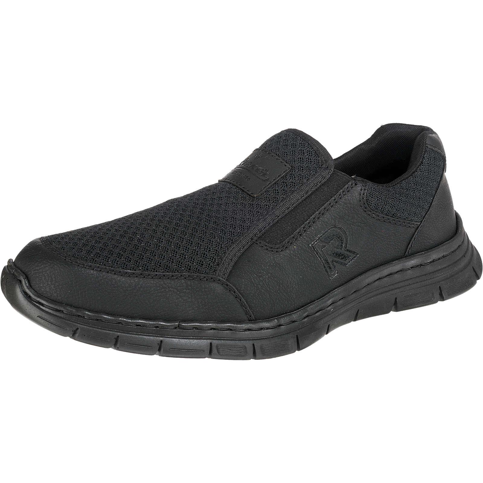 rieker Sneakers Low schwarz Herren Gr. 40