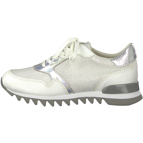 Tamaris weiß Tamaris Sneakers Tamaris silber Tamaris dnPYWUfd