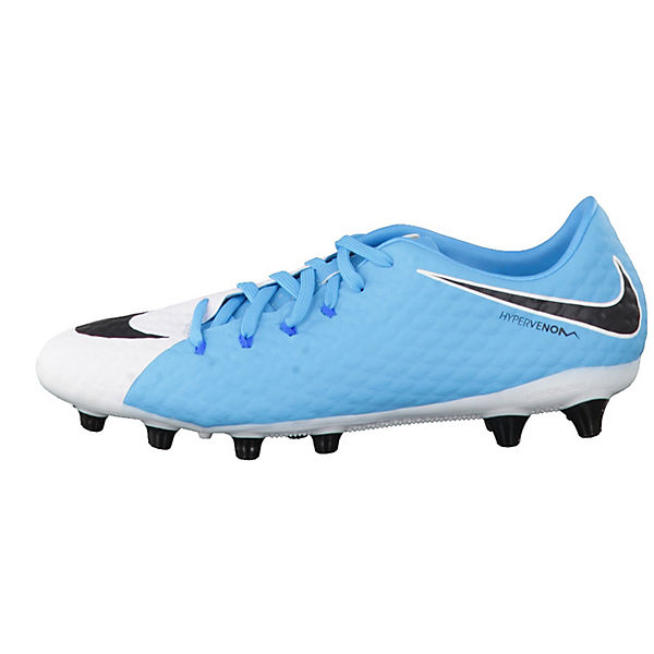 NIKE, NIKE  Fußballschuhe Hypervenom blau-kombi Phelon III AG-Pro 852559-308, blau-kombi Hypervenom   b00194