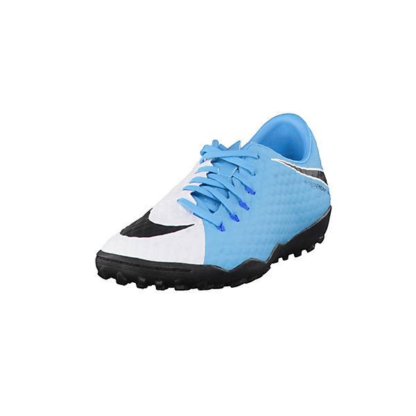 NIKE Fußballschuhe HypervenomX Phelon III TF 852562-308 blau-kombi Herren Gr. 44,5