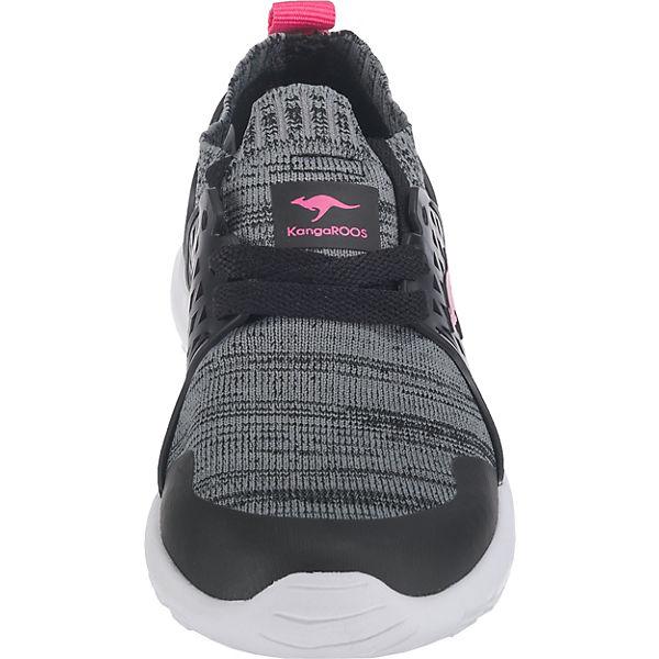 KangaROOS Sneakers für Mädchen schwarz