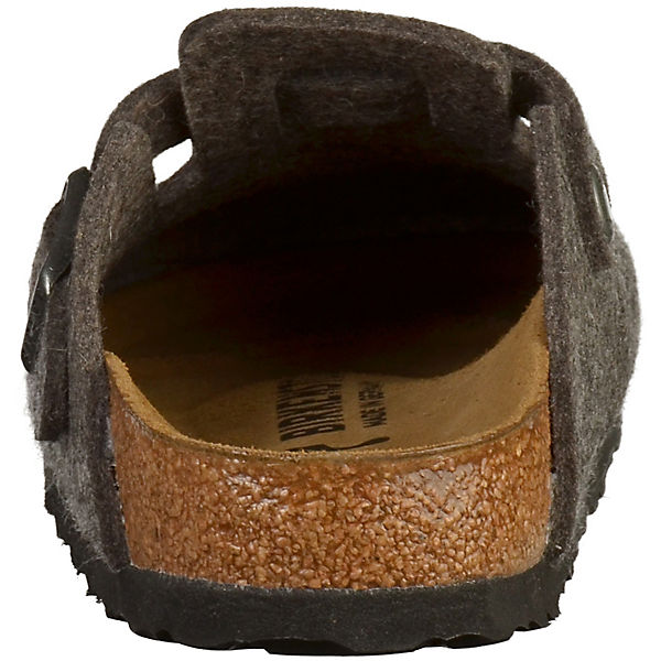 BIRKENSTOCK, Gute Boston Pantoletten, grau  Gute BIRKENSTOCK, Qualität beliebte Schuhe 030819