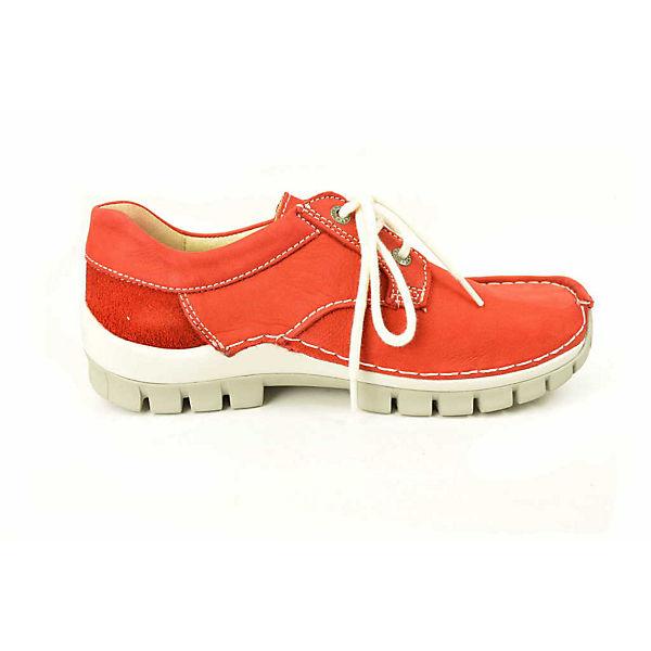 Wolky, Wolky beliebte Schnürschuhe, rot Gute Qualität beliebte Wolky Schuhe 34c2b1