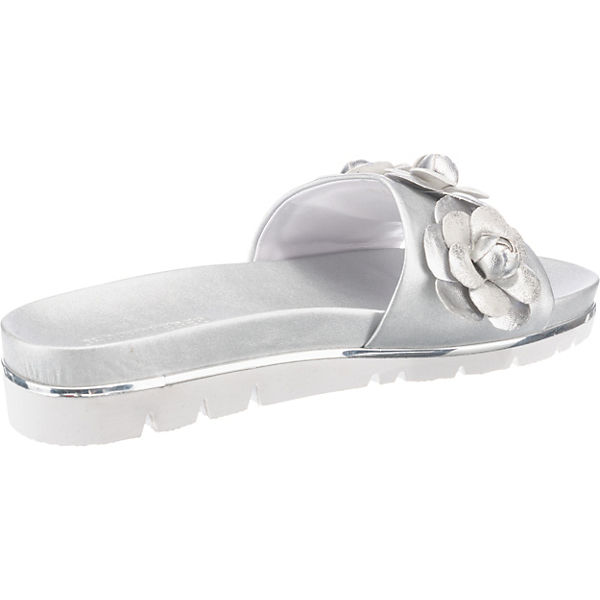 Gerry Weber, Gute Derma Pantoletten, silber  Gute Weber, Qualität beliebte Schuhe a5e63a