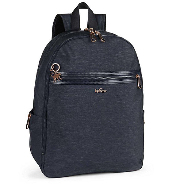 Kipling Basic Plus Deeda N Rucksack Laptopfach blau
