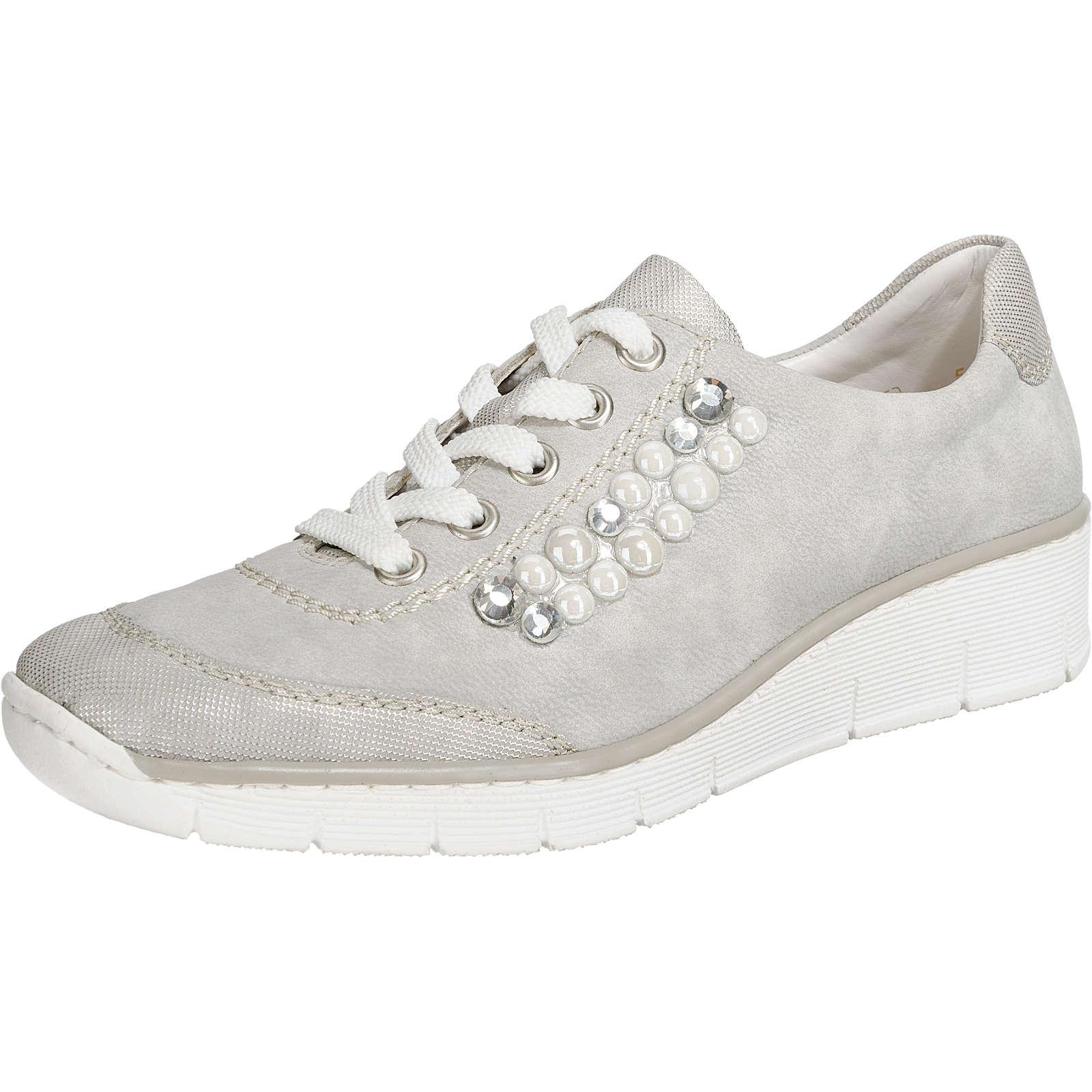 rieker Sneakers grau Damen Gr. 42