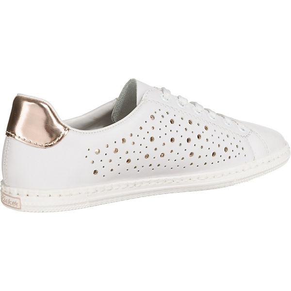 Rieker, rieker Sneakers, weiß  Gute Qualität beliebte beliebte beliebte Schuhe ace884