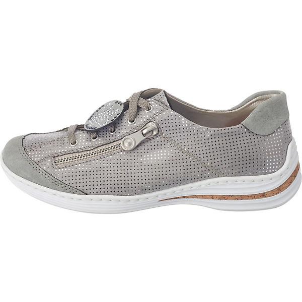 Rieker, Rieker, Rieker, rieker Sneakers, grau  Gute Qualität beliebte Schuhe b50a49