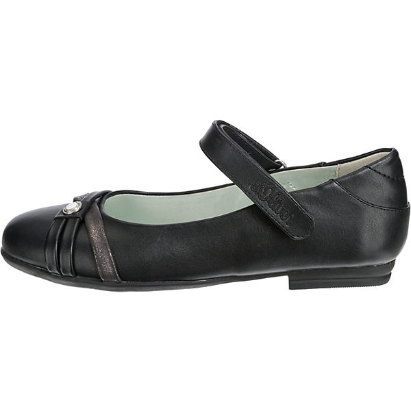 s.Oliver Kinder Ballerinas schwarz