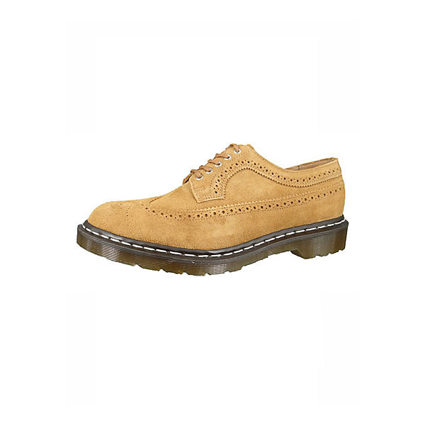 DrMartens Wingtip schuhe Gelb Chestnut Business Brogue BQCtrdshx