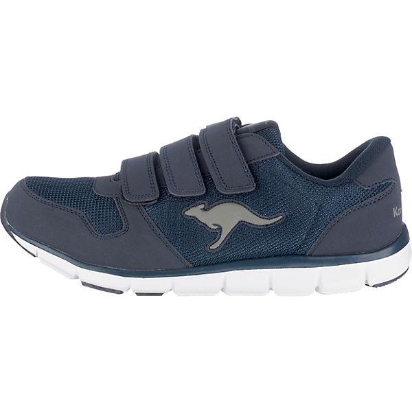 K 701 KangaROOS B BlueRun Low Sneakers dunkelblau Egwxw1qdn