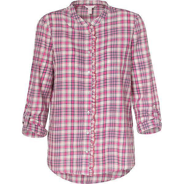 ESPRIT ESPRIT Bluse Bluse weiß pink XFwXO