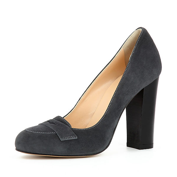 Evita Shoes CRISTINA Evita dunkelgrau Pumps Shoes BBr6qw1