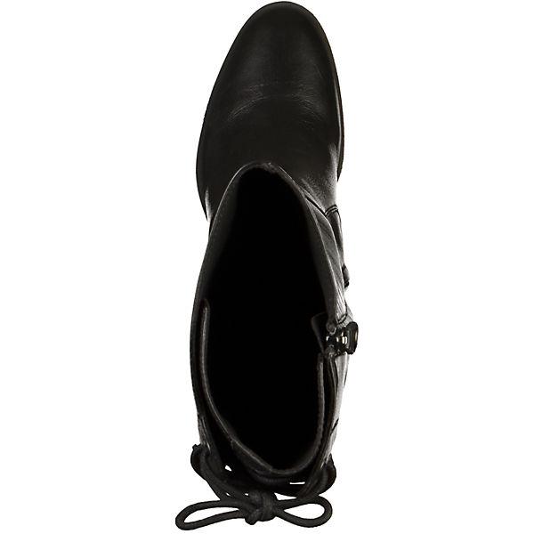GEOX Stiefel schwarz