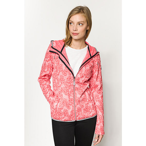 Fleecejacke killtec Fleecejacke killtec Dinala rot EFxTfwqz