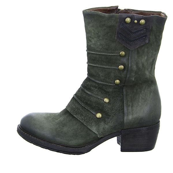 A.S.98, A.S.98 Stiefeletten Kaltfutter, dunkelgrün  Gute Qualität beliebte Schuhe