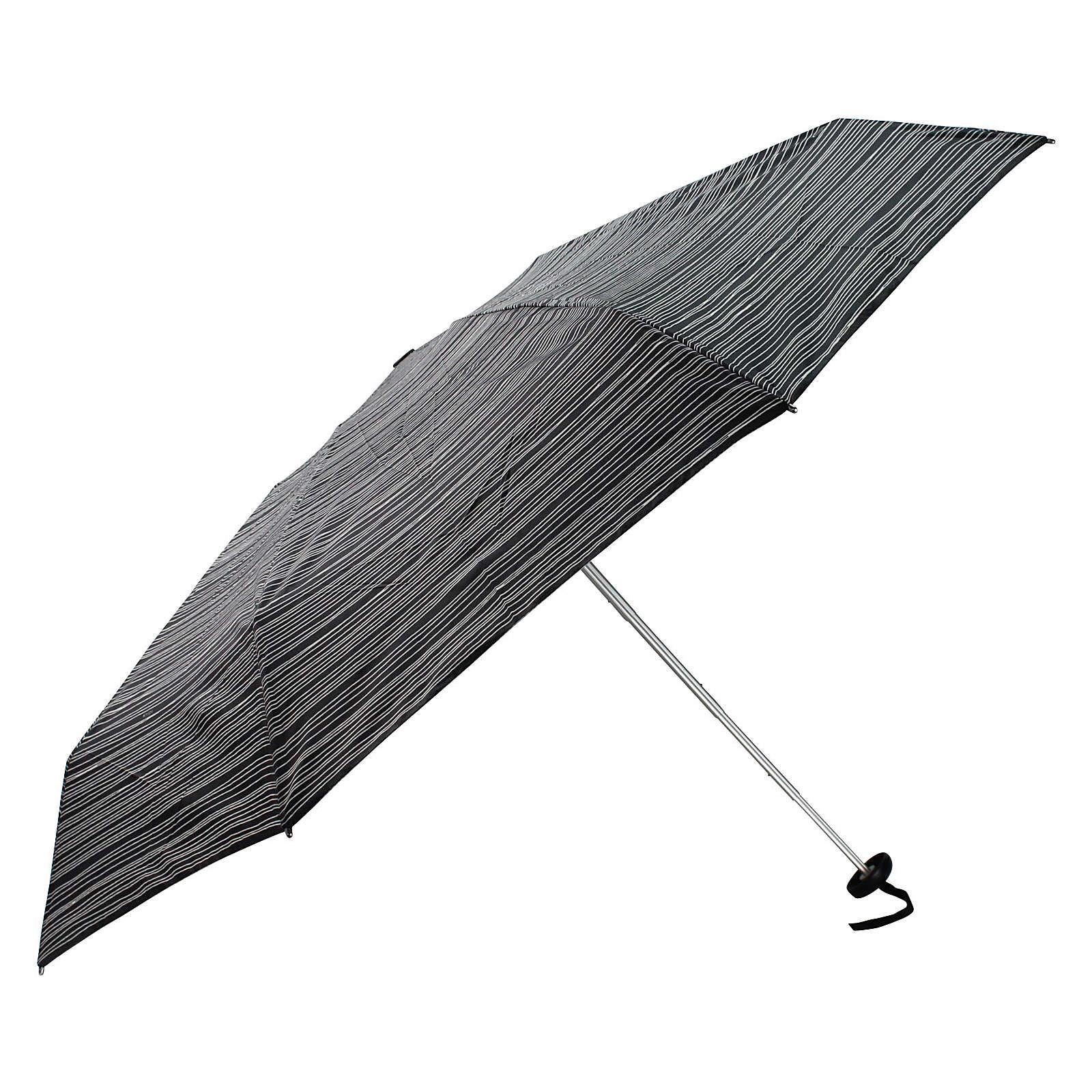 Knirps Taschenschirme X1 16,5 cm - stripes black - broschei