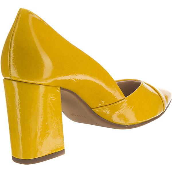 högl Klassische Pumps gelb