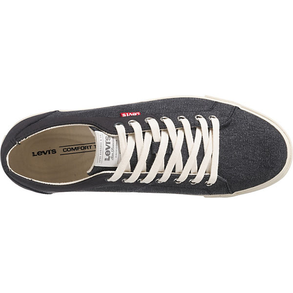 Levi's® Sneakers Low Levi's® schwarz Woods Sneakers Levi's® Low Woods schwarz Sneakers Woods qqfOr6
