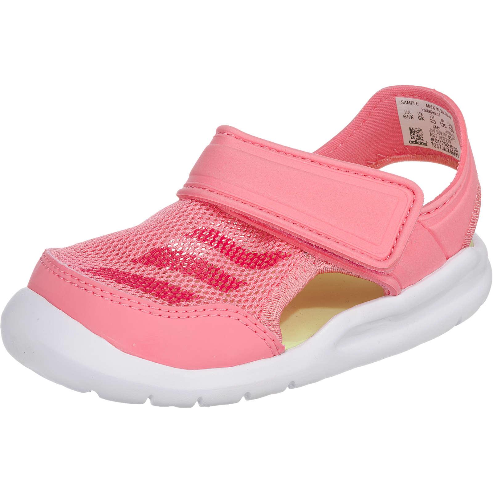 adidas Performance Baby Badeschuhe FortaSwim I für Mädchen rosa Mädchen Gr. 22