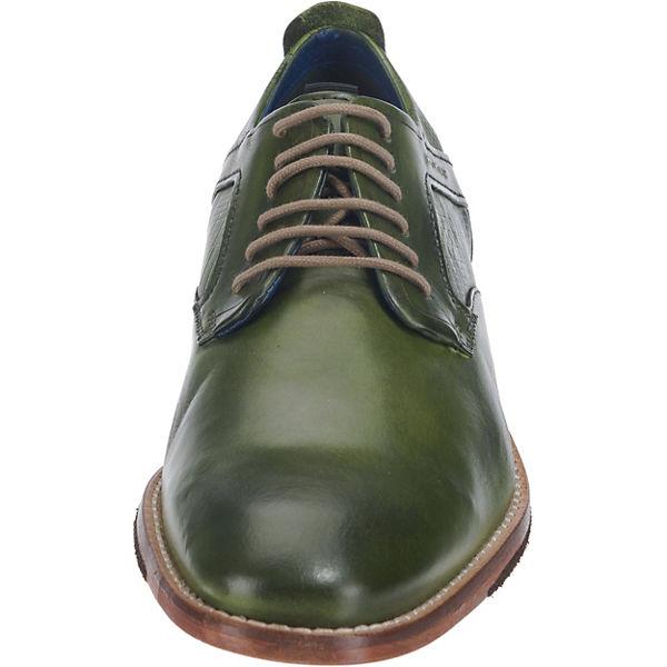 DANIEL HECHTER, Business-Schnürschuhe, grün beliebte  Gute Qualität beliebte grün Schuhe 669ab9