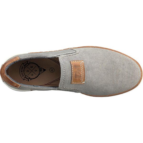DANIEL HECHTER Slip-On-Sneaker grau