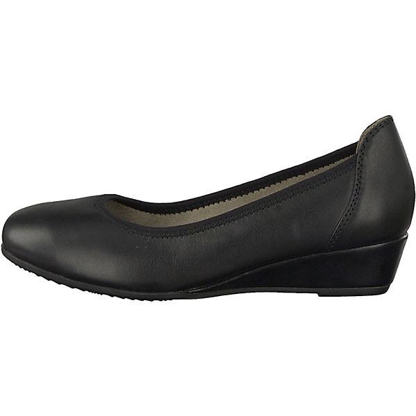 Jana, Keilpumps, schwarz  Gute Qualität Qualität Qualität beliebte Schuhe 463ae9