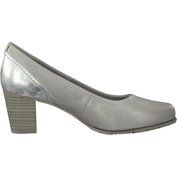 Jana, Komfort-Pumps, silber silber Komfort-Pumps, Gute Qualität beliebte Schuhe 2f3147