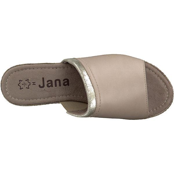 Jana Jana Komfort sand Pantoletten Jana Komfort Komfort Pantoletten Pantoletten Komfort sand Jana sand sand Pantoletten C5xIw