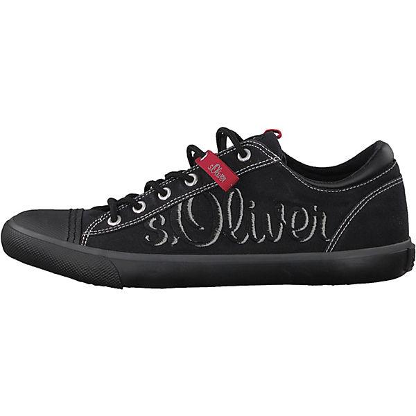 Oliver schwarz s s s Sneakers Sneakers Low schwarz Low Oliver qfYx7zw7