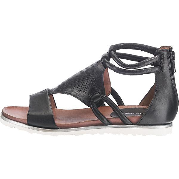 JOLANA & FENENA, T-Steg-Sandalen, schwarz Schuhe  Gute Qualität beliebte Schuhe schwarz eed455