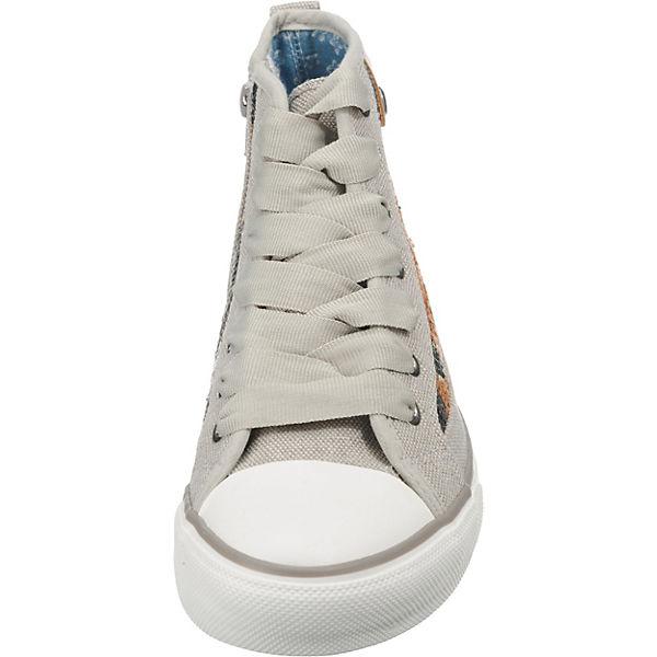 Fritzi aus Sneaker Preußen, Hilda Toe Cap Sneaker aus Flower Sequin Sneakers High, grau/anthrazit  Gute Qualität beliebte Schuhe 5f3fdf