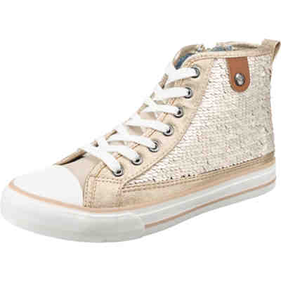 Hanna Toe Cap Sneaker Sequin Sneakers High