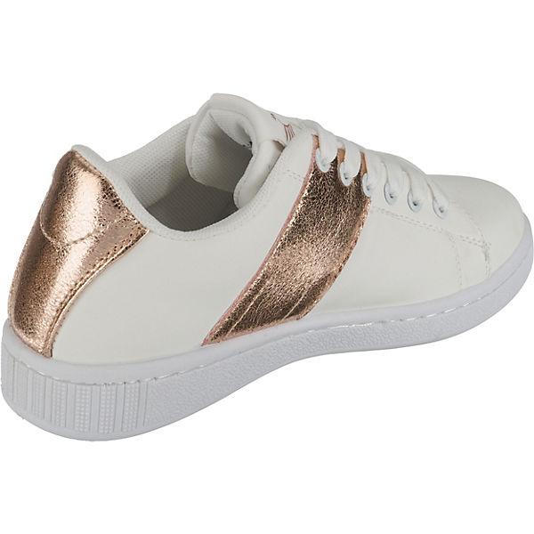 Preußen Metallic bronze Sneakers Low weiß Stripe Tessa aus Sneaker Fritzi 5W7vOtzPcw