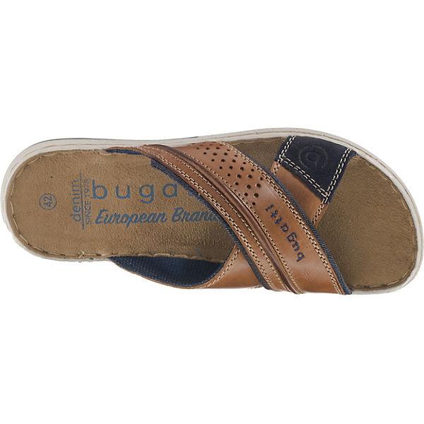 Cognac Cognac Bugatti Pantoletten Pantoletten Bugatti Bugatti qvxZ6XzwXp